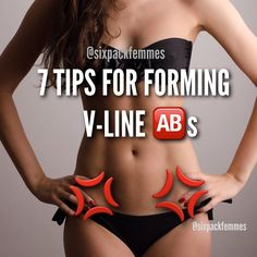 1. Exercise your lower ab region If you want V-line #abs, you need to work for them.