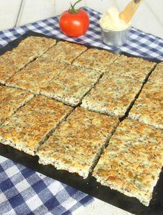 kesobröd6 Raw Vegan Recipes, Low Carb Recipes, Bread Recipes, New Recipes, Snack Recipes, Healthy Recipes, Different Types Of Bread, A Food, Food And Drink