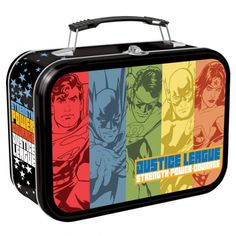 Justice League Lunch Box <3