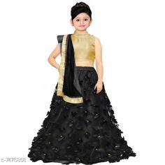 Checkout this latest Lehanga Cholis Product Name: *Kids - Girls Indian Wear - Lehanga Cholis* Lehenga Fabric: Net Dupatta Fabric: Net Sleeve Length: Sleeveless Stitch Type: Stitched Sizes:  3-4 Years, 4-5 Years, 5-6 Years, 6-7 Years, 7-8 Years, 8-9 Years, 9-10 Years, 10-11 Years, 11-12 Years, 12-13 Years, 13-14 Years Country of Origin: India Easy Returns Available In Case Of Any Issue   Catalog Rating: ★3.9 (6144)  Catalog Name: Princess Classy Kids Girls Lehanga Cholis CatalogID_1203385 C61-SC1137 Code: 573-7475858-798