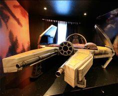 lit star wars Un lit Star Wars « Chasseur Jedi »