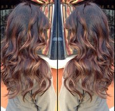 Bayalage - I like the reddish tones to the highlights