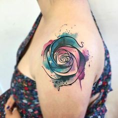 Feed Your Ink Addiction With 50 Of The Most Beautiful Rose Tattoo Designs For Women And Men #ink #tattoos #bodyart