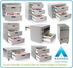 Adande Works in a Completely Unique Way to Other Fridges or Freezers.