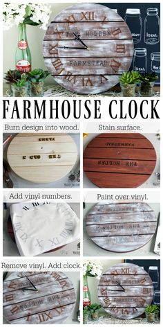 I love everything farmhouse style and wanted to create my own personalized…