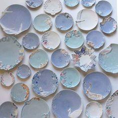 Ceramic Pottery, Pottery Art, Ceramic Art, Clay Magnets, Hand Built Pottery, Cute Kitchen, Ceramics Projects, Sugar Craft, Ceramic Design