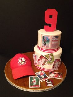 St Louis Cardinals cake St louis cardinals Cardinals and Saints