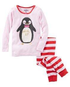 Baby Girl 2-Piece Penguin Snug Fit Cotton PJs from OshKosh B'gosh. Shop clothing & accessories from a trusted name in kids, toddlers, and baby clothes.