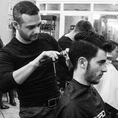 Algunas de las fotos de MARKOS YLLANA FASHION PHOTOGRAPHER para el shooting de A t t i t u d e nuestra última colección masculina recientemente publicada en #revistacoiffureprofesionnelle #moda #cabello #masculino #cortesdepelo #peluqueriacreativa #attitudecollection #santanapeluqueros ##alicantecity  (en SantanaPeluqueros Hair&Art, Alicante)