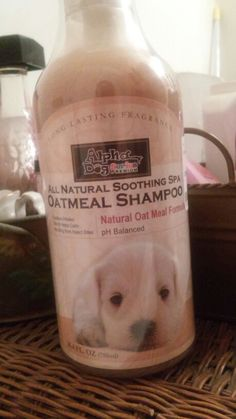 This is the best dog shampoo ever! It smells so good and the smell lasts for so long. Swear, no wet dog smell and smells like a shampoo you would use for yourself! I found mine at Marshell's...Alpha Dog Series Premium All Natural Soothing Spa Oatmeal Shampoo. Trust me you are going to love it and so will your pooch....