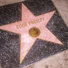 The Hollywood Walk of Fame star of Elvis Presley is literally right next to The Beatles star.    http://glitteratitours.com #GlitteratiToursLA
