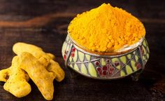 The holy medicinal herb turmeric
