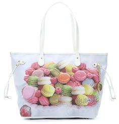 Handtasche mehrfarbig 37 cm
