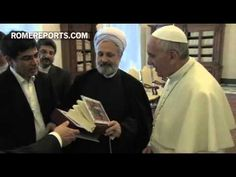Pope welcomes Irans new ambassador to the Holy See