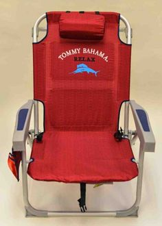 Tommy Bahama Oversized Aluminum Beach Chair With Footrest