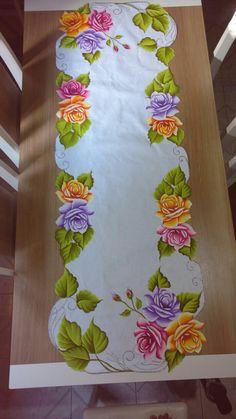 Resultado de imagen para pintura em tecido pinterest