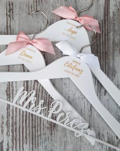 ⭐⭐⭐⭐⭐ 'These hangers are stunning! Incredible quality for such a reasonable price—pictures don'f even do these hangers justice they are so beautiful! Such a wonderful keepsake for my bridal party and arrived super quickly!' • • • • • #bridesmaidhangers #personalizedhangers #bridesmaidgift #bridalshowergift #bridalpartygifts #bridesmaidideas #bridesmaidgiftideas #bridesmaids #bridesmaidduty #personalizedgift #customhanger #engravedhanger #bridesquad #weddinghanger #bridalpartysquad Bridesmaid Hangers, Bridesmaid Duties, Wedding Hangers, Bridesmaid Gifts, Bridesmaids, Personalized Hangers, Bridal Shower Gifts, The Incredibles, Pictures