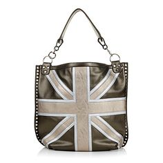 twiggy LONDON Union Jack Tote.  I love it in traditional blue and red.