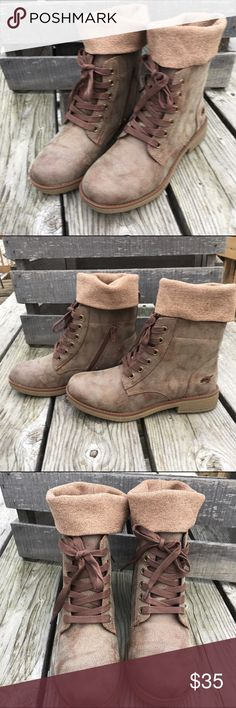 🆕List! Rocket Dog Combat Boots w/Socks! NIB! Vegan leather. Size 7. Rocket Dog Shoes Combat & Moto Boots