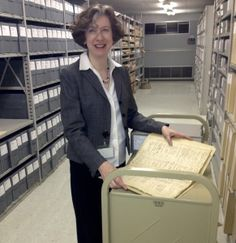 """Laurie Rofini, director of Chester County Archives and Records Services, will lead a """"History on Tap"""" program on Ann Preston, a 19th-century..."""