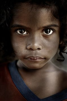 Aeta girl from Philippines