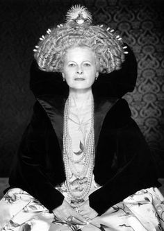 """Vivienne Westwood, 1997. """"I was the first person to have a punk rock hairstyle."""""""