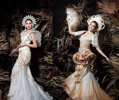 an experiential beauty, lifestyle and travel site based in the Philippines. Modern Filipiniana Gown, Dress Dior, Devine Feminine, Filipino Fashion, Spanish Dress, Royal Clothing, Gala Dresses, Gorgeous Women, Baybayin