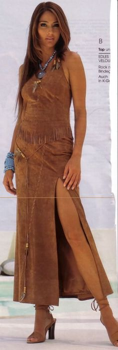 Supermodel Brenda Schad, a stunning Native American beauty.