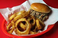 Boone's Barbecue Barn Barnyard Burger