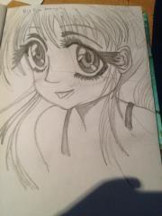Big Eye Manga  Girl £10.00