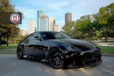 Black Nissan 350z black on black...exactly what I want!