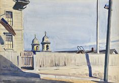 "The Original Edward Hopper Houses - Photo Essay - NYTimes.com (""Portuguese Church in Gloucester,"" Herbert F. Johnson Museum of Art, Cornell University) ~ Photographs by GAIL ALBERT HALABAN"
