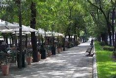 Esto es el Paseo La Castellana.