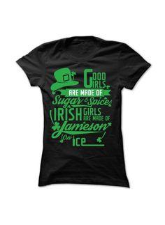 Irish Girl - Limited Edition Ladies tee, Hoodie