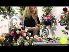 Blog of Mayesh Wholesale Florist - Inspired Floral Design with Beth O'Reilly: Marsala Spring Wedding