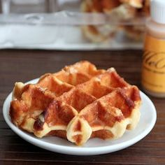 Liège Belgian waffles. Please click on the photo, then click once more in Yumgoggle to get to this delicious recipe =)