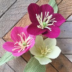 Hellebores! These little darlings are a new bloom for our fall/winter collection. Fun fact: many [real] hellebore species are quite poisonous! No such concerns with ours, though we don't exactly recommend eating them.