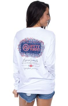 Ole Miss Perfect Pairing Tee - Long Sleeve
