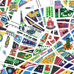 Antoine Corbineau traduit la magie de Paris en pop art - My Brand Friend