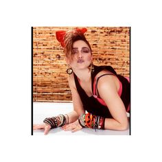 Madonna biography ❤ liked on Polyvore featuring madonna