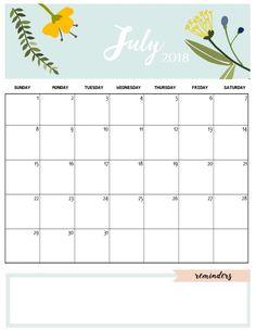 Cute august 2018 calendar template calendars pinterest cute july 2018 calendar template maxwellsz