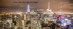 Travel, New York City Manhattan New York Skyline N Best Resorts, Vacation Resorts, Best Hotels, Luxury Hotels, City Lights At Night, Night City, New York Pas Cher, Photo Café, Beautiful Scenery Pictures