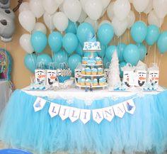 Frozen Party 5th Birthday Ideas