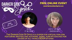 Guest Speakers, Youre Invited, Coaches, Dark Side, Ticket, Authors, All Things, The Darkest, Spice