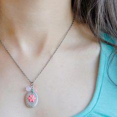 Eye candy locket necklace by joojooland on Etsy, $39.00