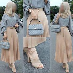 Hijab Styles 689121180469779089 - 13 Tuto Hijab Pour Jeune Fille – Hijab Fashion and Chic Style Source by hajarmounouar Hijab Fashion Casual, Street Hijab Fashion, Hijab Chic, Muslim Fashion, Fashion Outfits, Fashion Muslimah, Abaya Fashion, Modesty Fashion, Hijab Casual