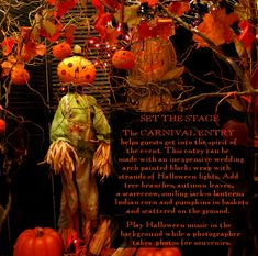 Church or school children's carnival questions? A Harvest and Halloween Handbook has answers!