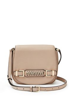DVF Iggy Leather Saddle Bag