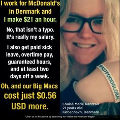 If you can pay your CEO 700 million you can pay your workers 15 an hour.