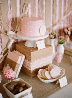 / Bodas rústicas / Eventos rústicos / Ideas originales para bodas / Decoraciones bodas / Rustic weddings / Mesa de postres